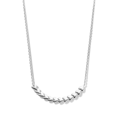 May Sparkle Happiness Sunny 925 Sterling Zilveren Ketting MS340010 (Lengte: 38.00-43.00 cm)