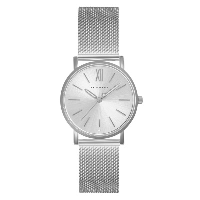 May Sparkle Bloom Girl Bloom Dahlia Zilverkleurig horloge MSB000