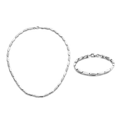 Parte Di Me Sorprendimi 925 sterling zilveren ketting en armband giftset PDM90017