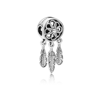 Pandora Moments Zilveren Spiritual Dreamcatcher Bedel 797200