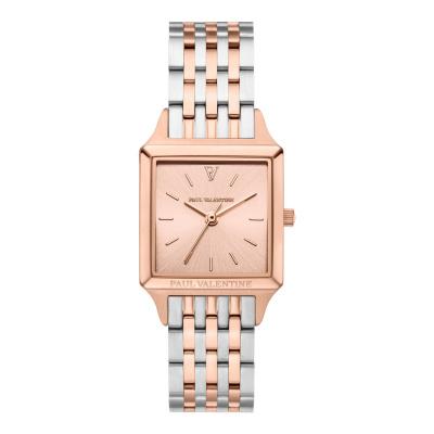 Paul Valentine Vindemia Roségoud- en Zilverkleurig horloge PVW1017-0000021