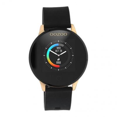 OOZOO Zwart/Roségoudkleurig Display Smartwatch Q00114