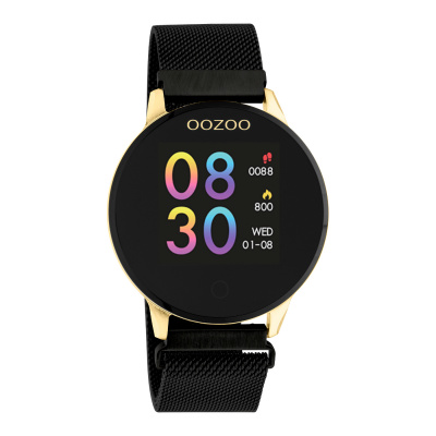 OOZOO Zwart Display Smartwatch Q00122