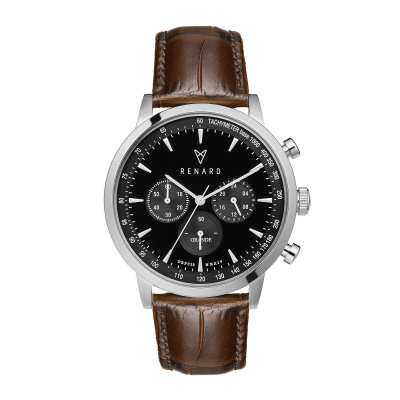 Renard Grande Chrono horloge RC402SS31CBR