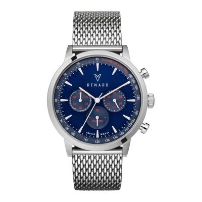 Renard Grande Blue/Silver Milanese horloge RC402SS41MSS