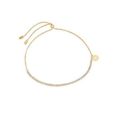 Sif Jakobs Ellera Tennis Armband 18K Gouden Plating SJ-B42032-CZ-SG