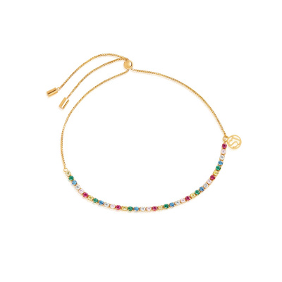 Sif Jakobs Ellera Tennis Armband 18K Gouden Plating SJ-B42032-XCZ-SG