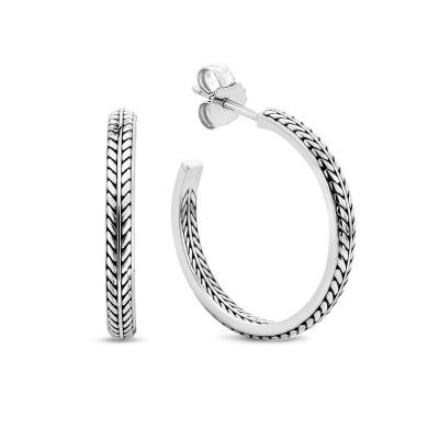 Selected Jewels Léna Claire 925 sterling zilveren creolen SJ0210200