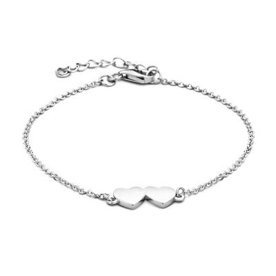 Selected Jewels Hearts Armband 1327001 (Lengte: 16.00-19.00 cm)