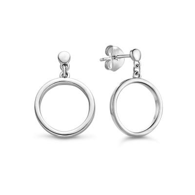 Selected Jewels Lina Bobbi 925 Sterling Zilveren Oorbellen SJ360006