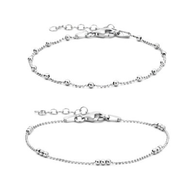 Selected Jewels Selected Gifts 925 sterling zilveren set armbanden SJSET1330080