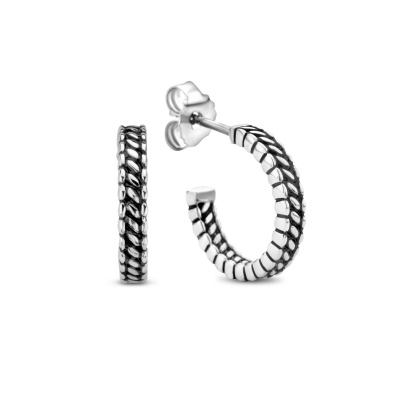Selected Jewels 925 Sterling Zilveren Nola Oorstekers SJ0210225