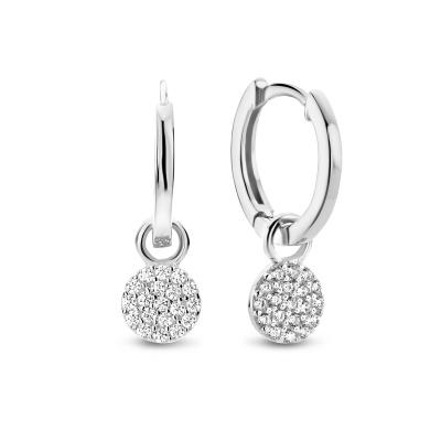 Selected Jewels Evy Fee 925 Sterling Zilveren Oorbellen SJSS19077
