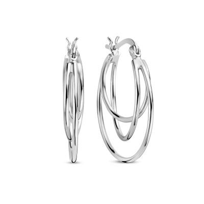 Selected Jewels 925 Sterling Zilveren Lova Oorbellen SJ0210283