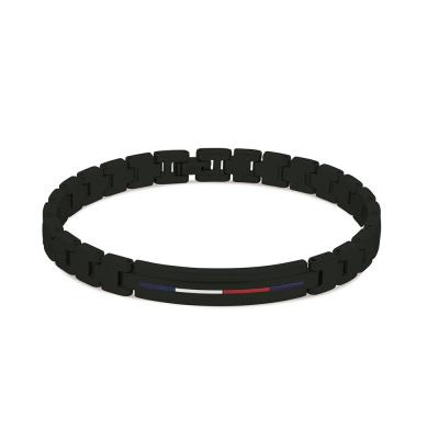 Tommy Hilfiger Zwarte Armband TJ2790312 (Lengte: 20.00 cm)