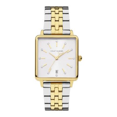 Violet Hamden Dawn Goud- en Zilverkleurig horloge (34 mm) VH09008
