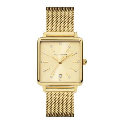 Violet Hamden Dawn Goudkleurig horloge (34 mm) VH09016