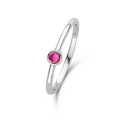 Violet Hamden Venus July 925 Sterling Zilveren Ring Met Geboortesteen VH330007JUL